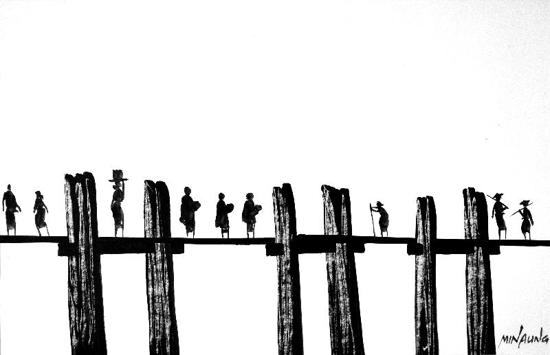 Birmanie - Minaung