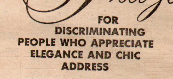 for-discriminate