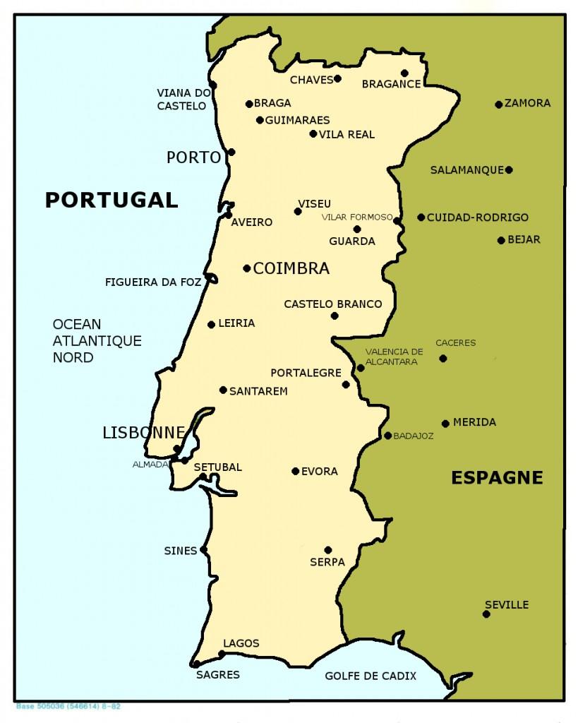 00 CARTE DU PORTUGAL