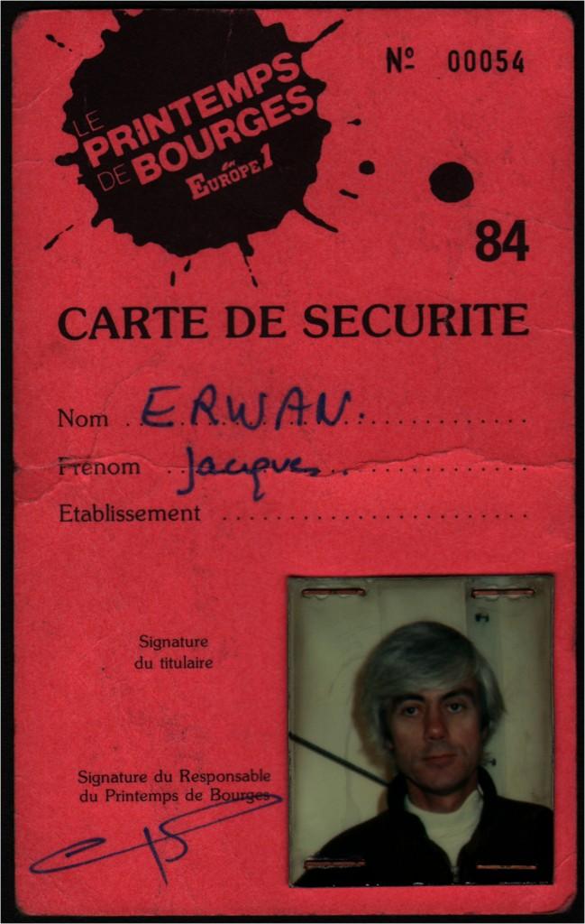 01 CARTE DE SECURITE