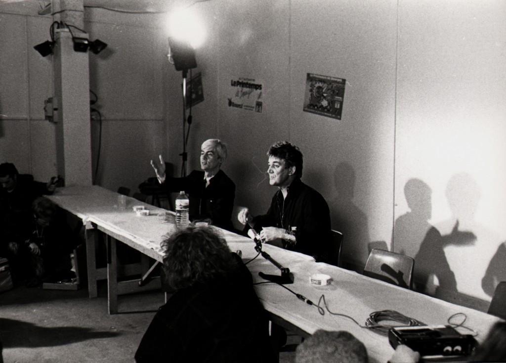 Conférence de presse avec Jacques Higelin (Photo Jean-Luc Bouchart)