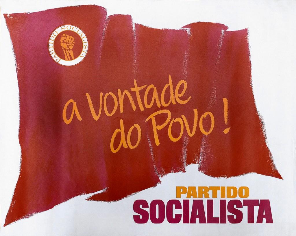 """Affiche du Parti Socialiste. """"La volonté du Peuple !"""""""