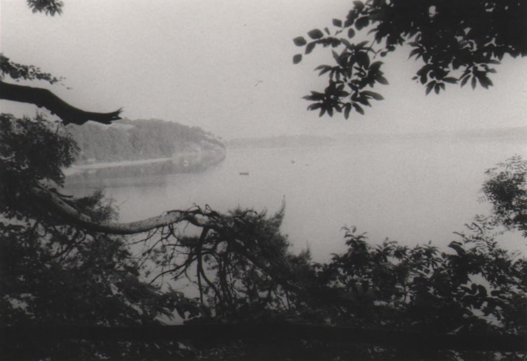 La Rance, rivière de Bretagne, années 70. Un paysage familier.