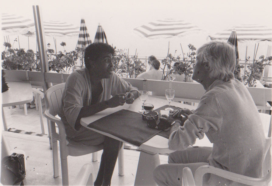 Gilberto Gil et Jacques Erwan - Photo : Olivier Nicolas (DR)