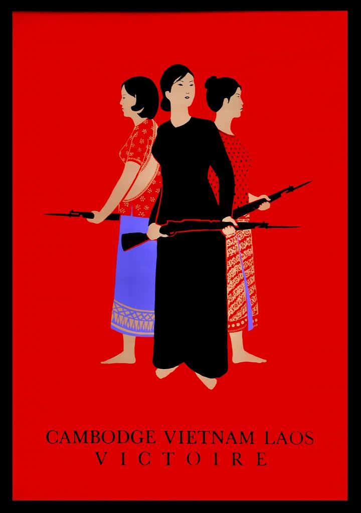 Affiche Cambodge Vietnam Laos Victoire (DR)