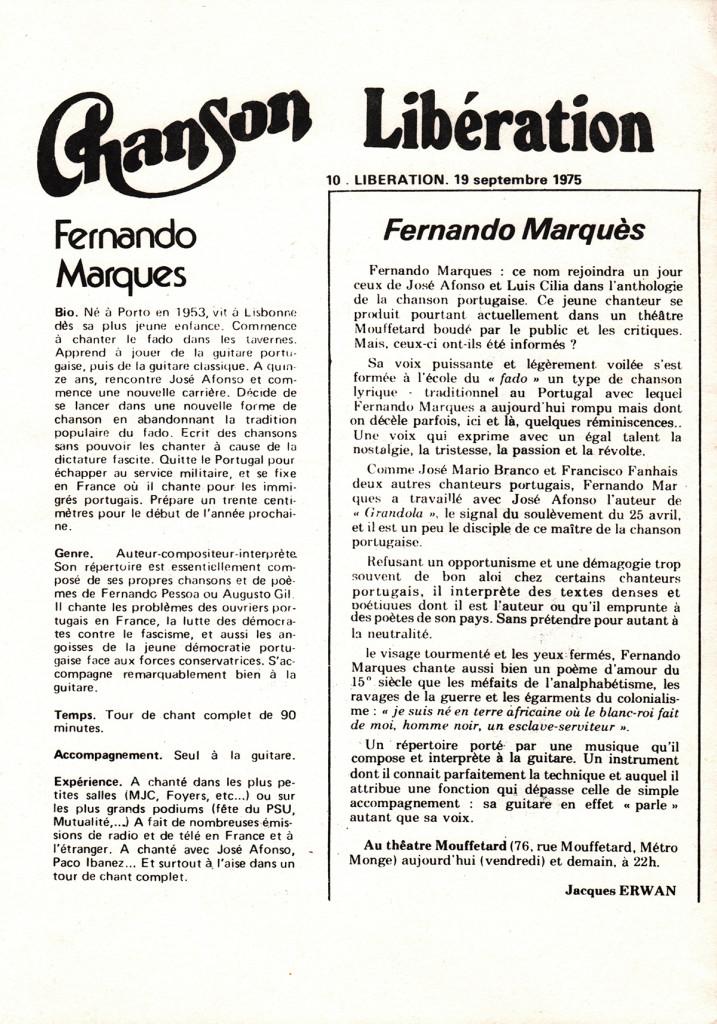 Fernando Marques-La-nouvelle-chanson-portugaise-(LIBERATION-19-09-1975