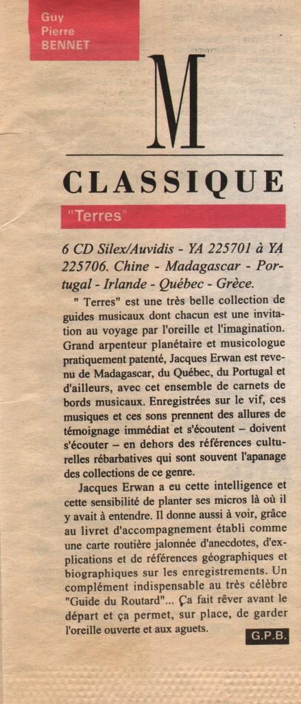 Hebdo, 1995