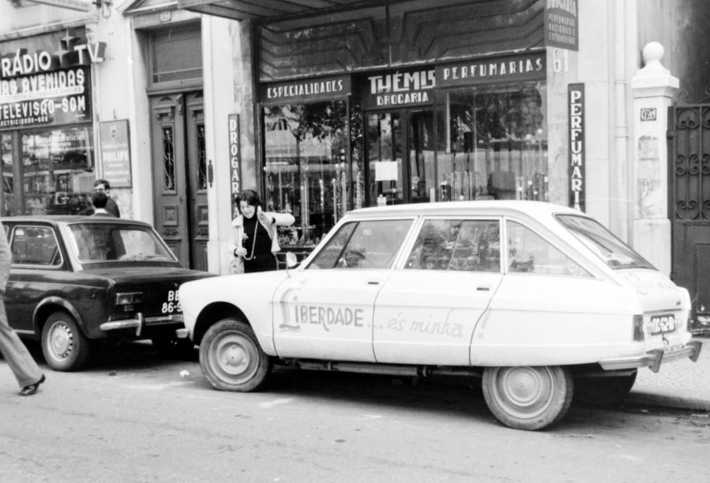 1er Mai 1974 à Lisbonne : Libérté © J. Erwan