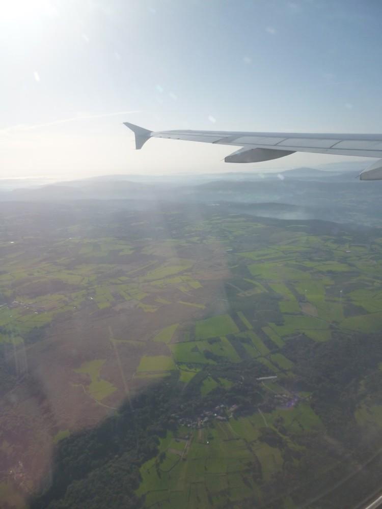 Survol de la Galice verdoyante.