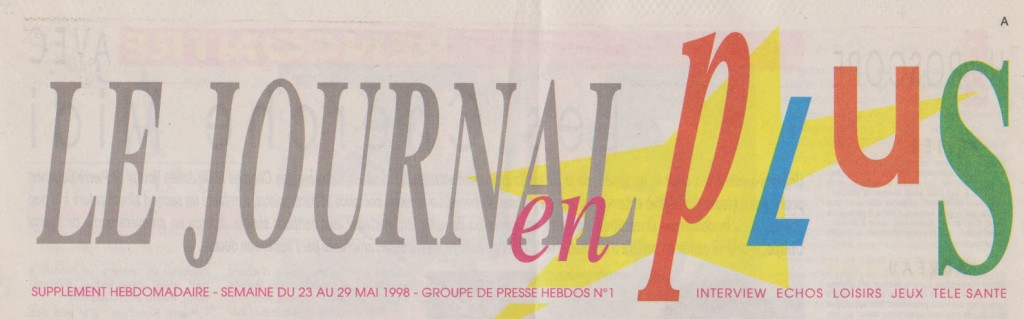 journal en plus couverture