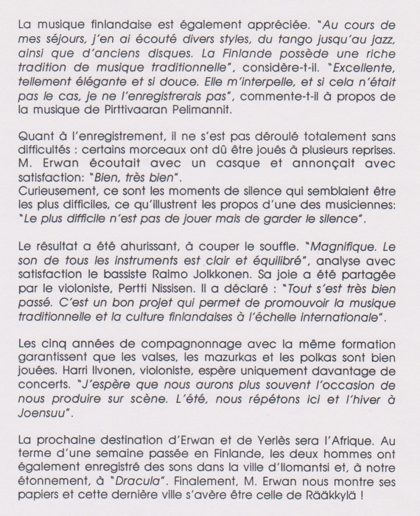 Torstaina, traduction (suite)