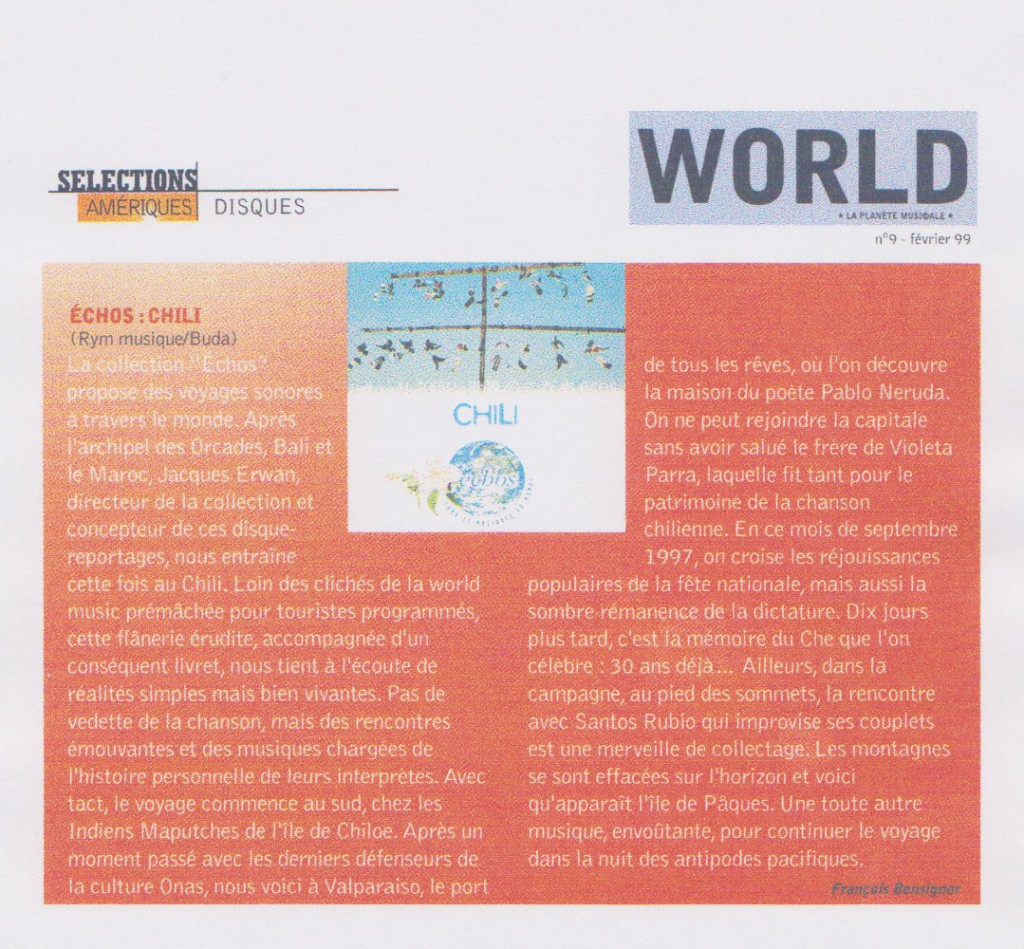 World, février 1999