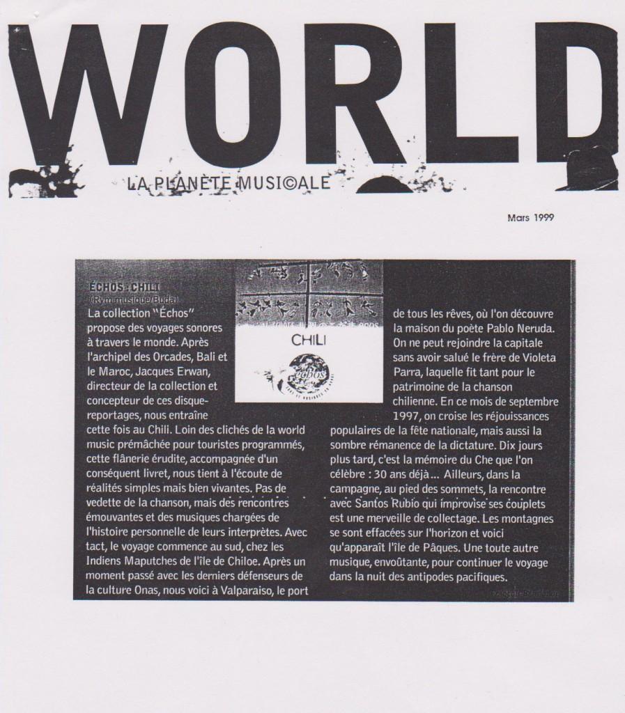 World, mars 1999